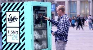 Automat z koszulkami