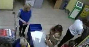 Co się dzieje w rosyjskim supermarkecie?