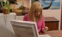 Sekretarka w pracy