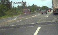 Rosyjski drogowy kaskader