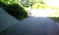 Lądowanie w krzakach