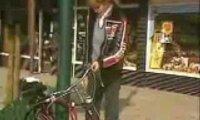 Ukryta kamera - rowerowe zabezpieczenie