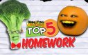 Nieznośna pomarańcza - 5 sposobów na brak pracy domowej