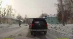 Ostra walka na rosyjskiej drodze