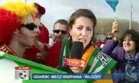Trudne jest życie dziennikarza podczas Euro ;)