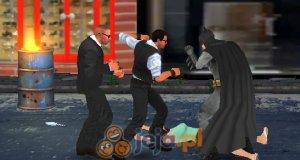 Batman walczy z przestępcami
