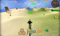 Motocykl na plaży