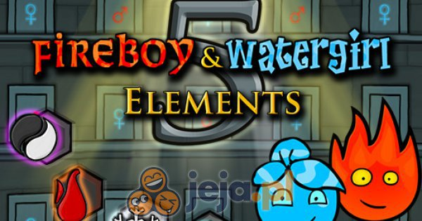 Fireboy & Watergirl 5: Żywioły