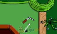 Minigolf w ogrodzie