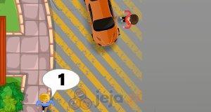 Chłopiec parkingowy