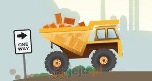 Ciężarówka z cegłami