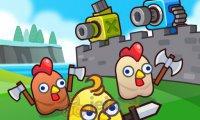 Łącz działa: Atak kurczaków