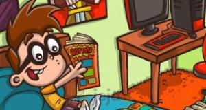 Komiksowy chłopiec
