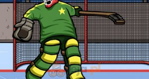 Hokejowy bramkarz