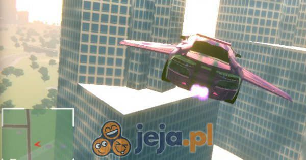 Symulator latającego samochodu