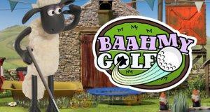 Baranek Shaun gra w golfa
