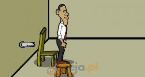 Ucieczka prezydenta Obamy