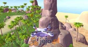 Symulator latania dronem