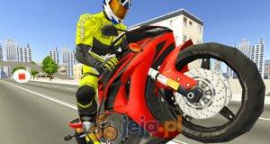 Motocyklem po autostradzie