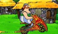 Asterix i Obelix na rowerze