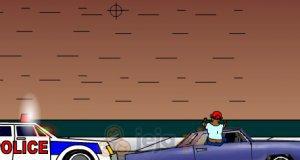 Strzelanina samochodowa