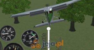 Symulator lotu samolotem