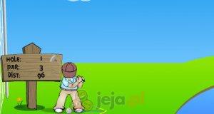 Gracz w golfa