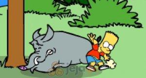 Ucieczka Barta Simpsona z wyspy