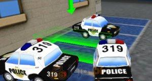 Parking przy komisariacie policji
