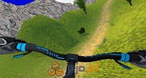 Górska jazda na rowerze