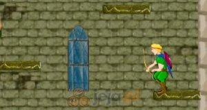 Łucznik na zamku
