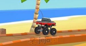 Szalony monster truck