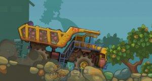 Górnicza ciężarówka
