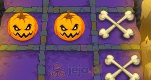 Halloweenowe kółko i krzyżyk