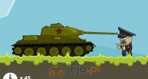Ruski czołg kontra armia Hitlera