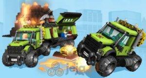 Lego City: Wulkan