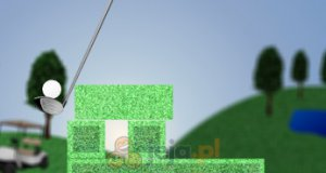 Zielony golf