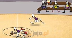 Koszykówka patyczaków