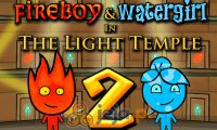 FireBoy & WaterGirl 2: In The Light Temple (HTML5)