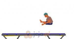 Poskacz na trampolinie