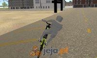 Symulator jazdy na rowerze