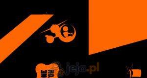 Pomarańczowy helikopter