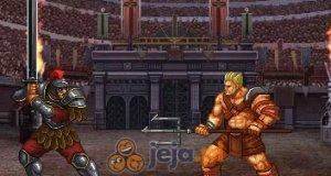 Gladiator na arenie