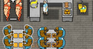 Więzienna stołówka