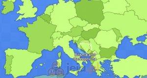Geograficzny quiz: Kraje Europy
