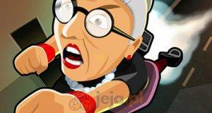 Rzuć wściekłą babcią