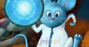 Niebieska mysz