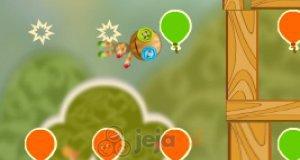 Kukła i balony