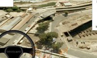Symulator jazdy po Google Maps 3D