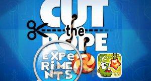 Cut the Rope: Eksperymenty